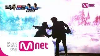 Mnet [댄싱9 시즌2] Ep09 : 파이널리그 2차전: 블루아이 - 김설진&박인수