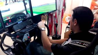 A級賽車教練執照訓練機示範