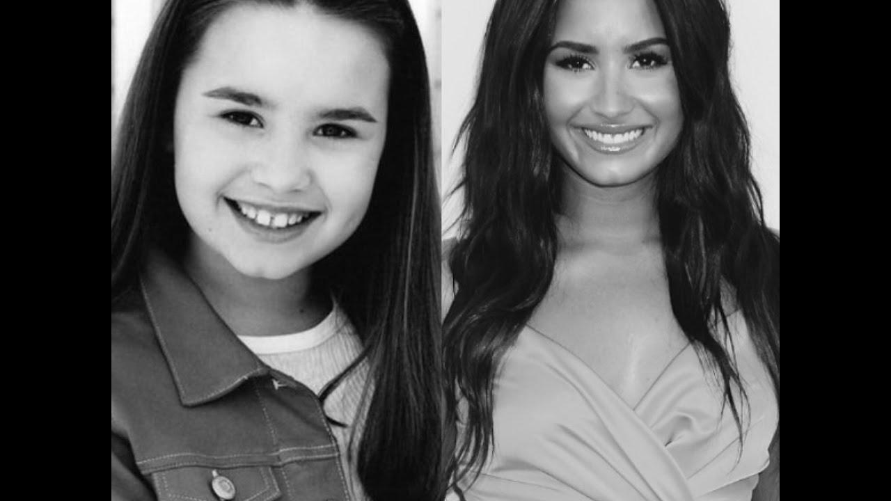 Demi Lovato Voice Evolution 2000 2017 Youtube