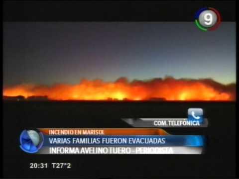 Canal 9 Bahía Blanca - Incendios en el Balneario Marisol