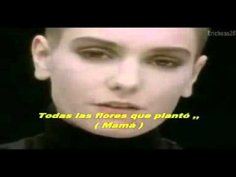sinead o'connor - nothing compares to you (subtitulado en español)