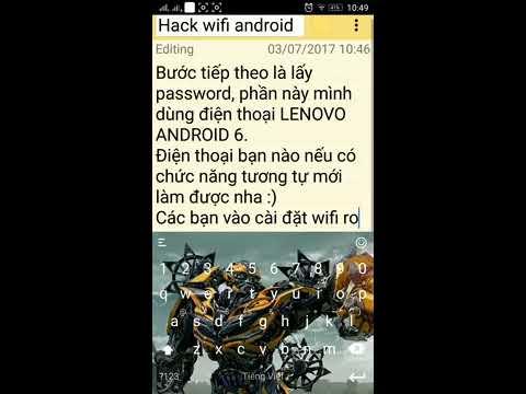 hướng dẫn hack wifi trên điện thoại android - Hướng dẫn hack wifi trên android không cần root