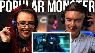 Download Falling In Reverse - Popular Monster   Her FIRST REACTION! Mp3 and Videos