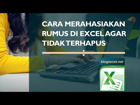Cara Menyembunyikan Rumus Di Excel