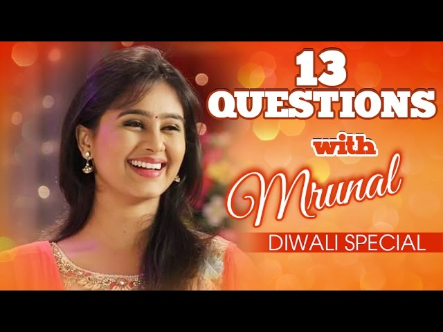 Top 13 Questions With Mrunal Dusanis | Diwali Special | Mrunals First Diwali After Marriage