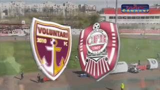 FC VOLUNTARI 1-0 CFR CLUJ ( PLAY-OUT )