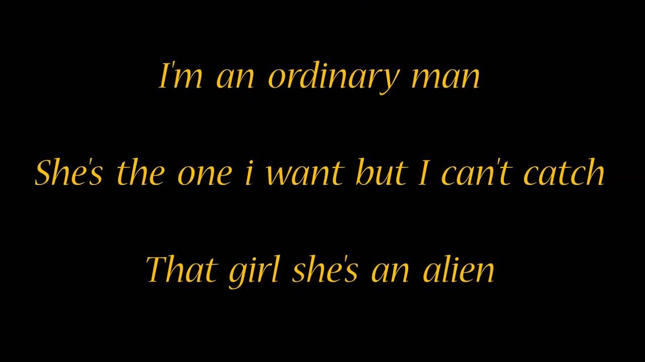 Alien Lyrics
