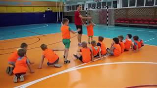 Юниор тренировка по футболу дети 4-5 лет