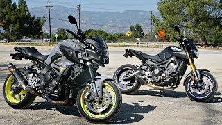 лучший мотоцикл на котором я ездил  MT09 или MT10 ?