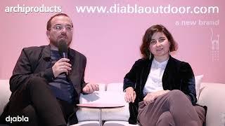 Salone del Mobile 2019 - DIABLA - Sara Romero e Mariano Vallejo