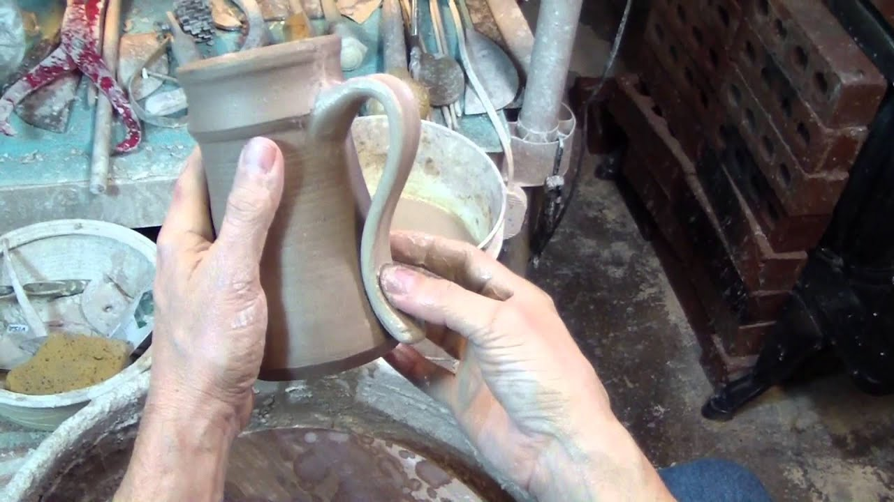 Corvus Moon - How to make pottery handles by pulling off the pot ...