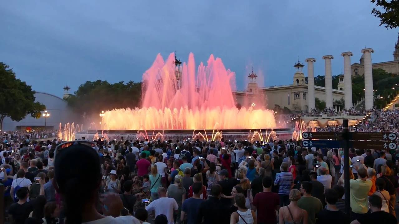(Font - Magic Fountains Barcelona YouTube - Magica)