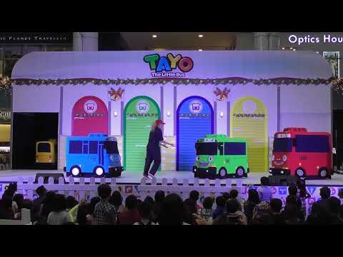Tayo The Little Bus Live! at Marina Square, Singapore