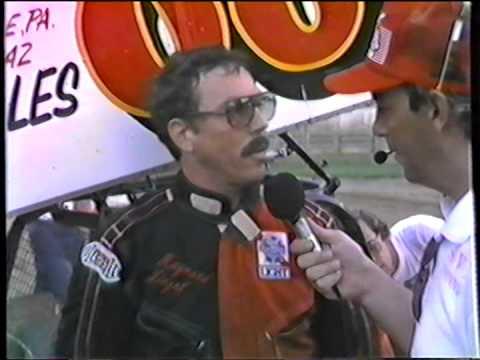 Interview with the late  Maynard Yingst   at Port Royal Speedway