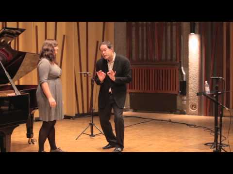 Guildhall Masterclass: Gerald Finley Vocal Masterclass - Jennie Witton