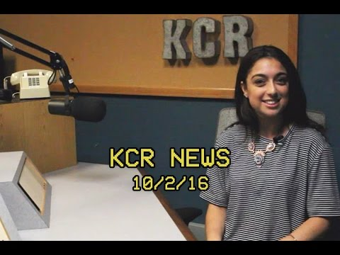 KCR College Radio News - 10/2/16
