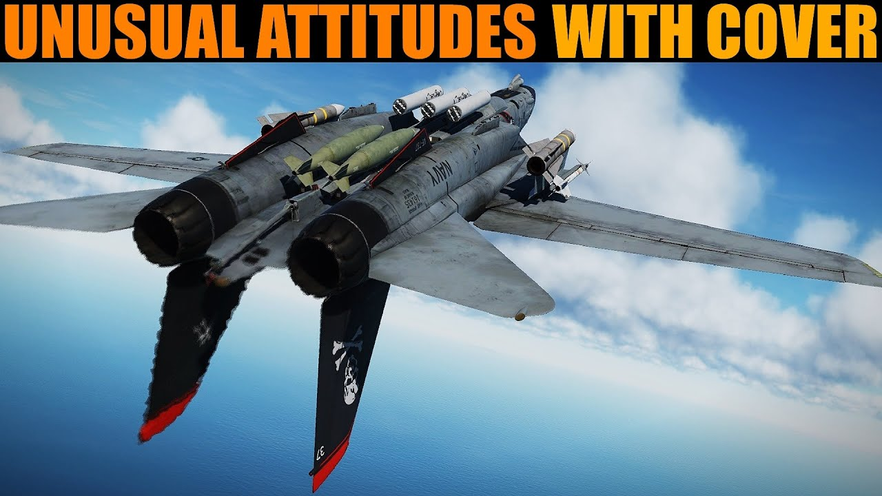Flying Basics: Unusual Aircraft Attitudes (with Cover) | DCS WORLD