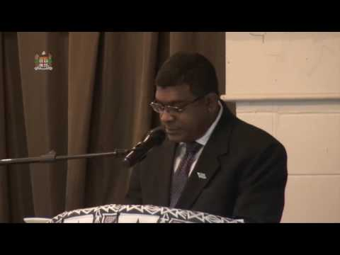 Fijian Minister for Education's official address at the 117th FPA Conference
