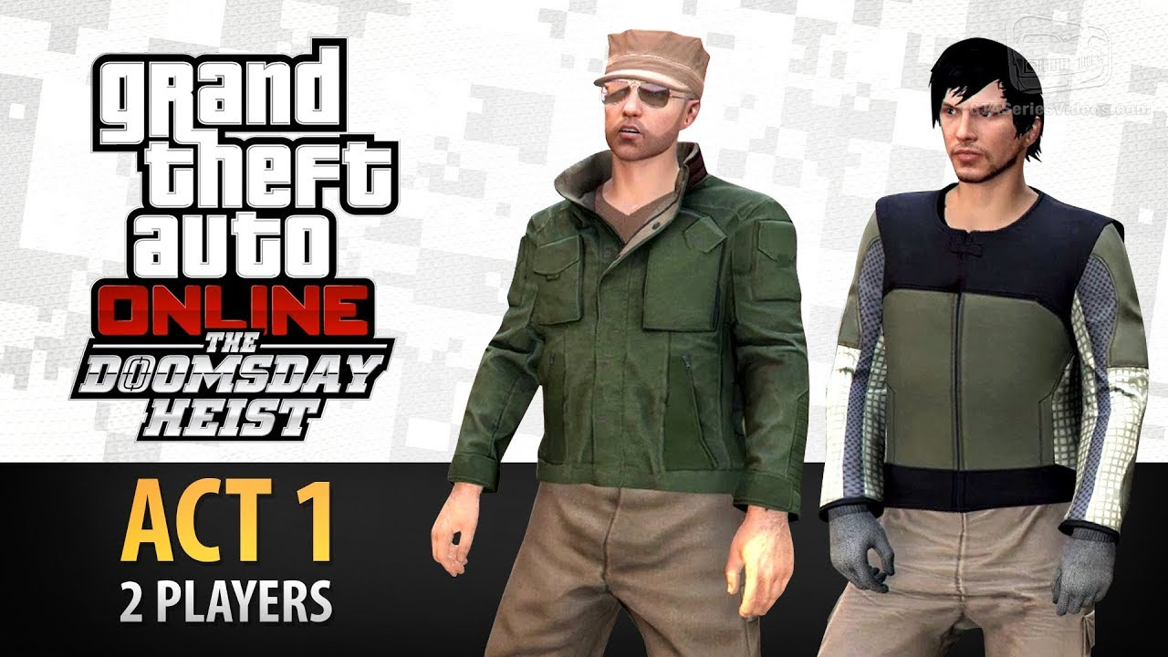 Download GTA Online: Doomsday Heist Act #1 with 2 Players (Elite & Criminal Mastermind II)