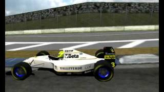 Barcelona   Spain mod 1993 F193 Formula UNe Suber Minardi, Arrows  Converted by CherryOne LE F1C F1 Challenge 99 02 and David Marques 2011 19
