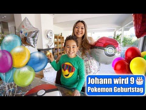 johanns-9.-geburtstag-🎂-pokemon-party!-pokeball-torte-machen- -kindergeburtstag-vlog- -mamiseelen