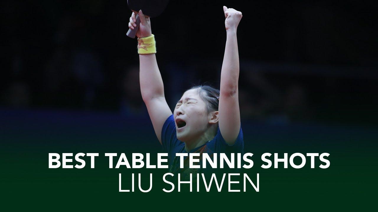 Download Top Crazy Table Tennis Shots from Liu Shiwen 🇨🇳