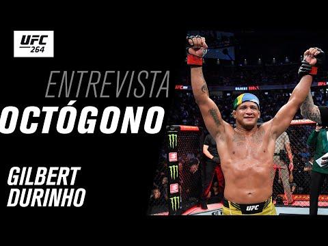 Entrevista de Octógono com Gilbert Durinho | UFC 264