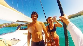 superyachting in the south pacific sailing sv delos ep 51