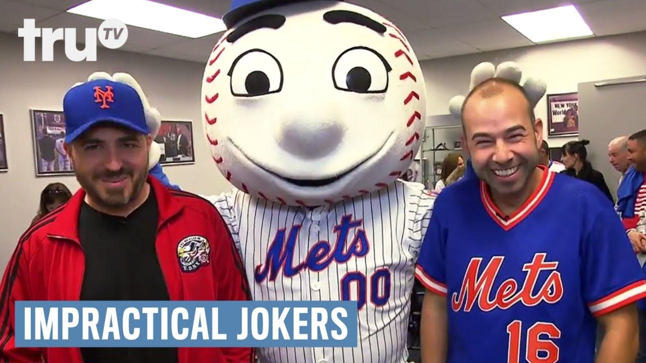 Impractical jokers the jokers meet the mets web extra trutv impractical jokers the jokers meet the mets web extra trutv m4hsunfo