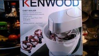 самый подробный Обзор Мороженицы Kenwood AT957A / К машине Kenwood cooking Chef major KM 096