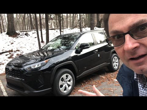 All-New 2019 Toyota RAV4 LE Review