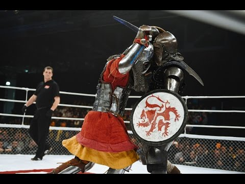 Knights fighting - Evgeniy Bedenko vs. Ivan Vasilev, M-1 Med