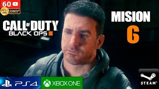 Call of Duty Black Ops 3 Campaña Completa   Mision 6 Gameplay Español PC 1080p 60fps   PS4 XboxOne