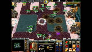 Warcraft 3: Die Hard - Boss 2: [Регулиум - Злой Гений/Regylum - The Tinker]