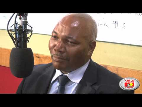 Capital FM Hosts Kenya Rugby Union Chairman, Mwangi Muthee And Tournament Chairman, Sasha Mutai