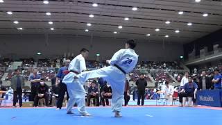 2017年4月2日、横浜文化体育館にて開催された第22回全関東空手道選手権...