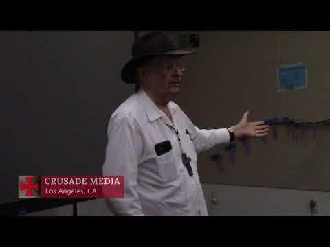 Post Screening Q&A of Refugee Crisis Presentation, Topanga CA