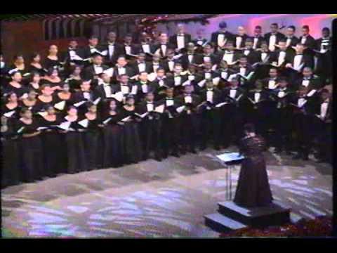 Morehouse/ Spelman Choirs - Round De Glory Manger