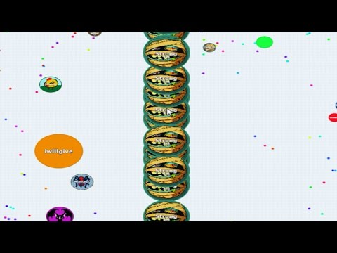 Agar.io Playing with Line Split in FFA