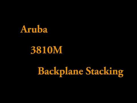 Aruba 3810M Backplane Stacking  - How Easy