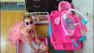 Кукла Беби Бон Новая Кухня Юляшки Алина КАК МАМА Играем в куклы