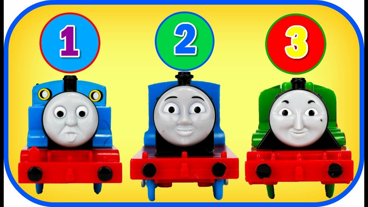 Learn To Count 1 10 With Thomas And Friends
