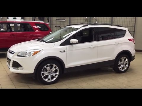 2013 Ford Escape Sel Review Youtube