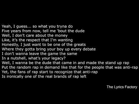 Lil Dicky - Professional Rapper (Feat  Snoop Dogg) LYRICS