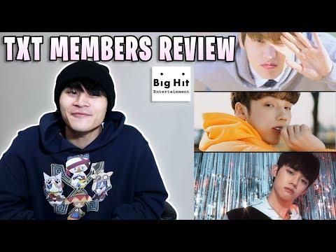 TXT (Tomorrow X Together) Member Review/REACTION (YEONJUN/SOOBIN/HUENINGKAI)