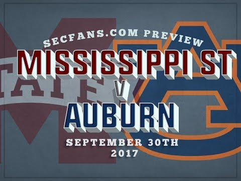 Mississippi State vs Auburn Preview & Predictions - 2017 College Football