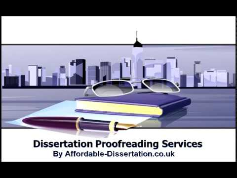 proofreading services uk dissertation