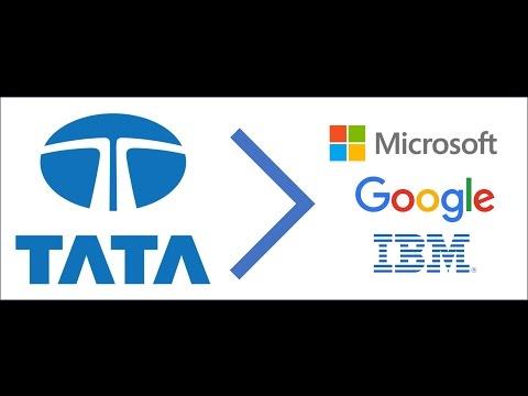 TATA bigger than Microsoft, Google and IBM