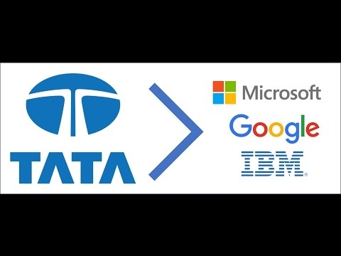 TATA bigger than Microsoft, Google and IBM