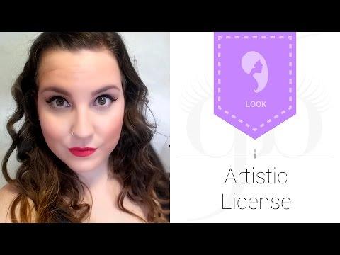 Look Artistic License | AntesMuertaKSinRimel